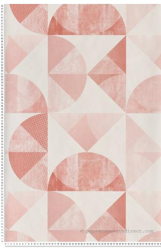 Papier Peint Scandinave Rose Dore Papierspeintsdirect