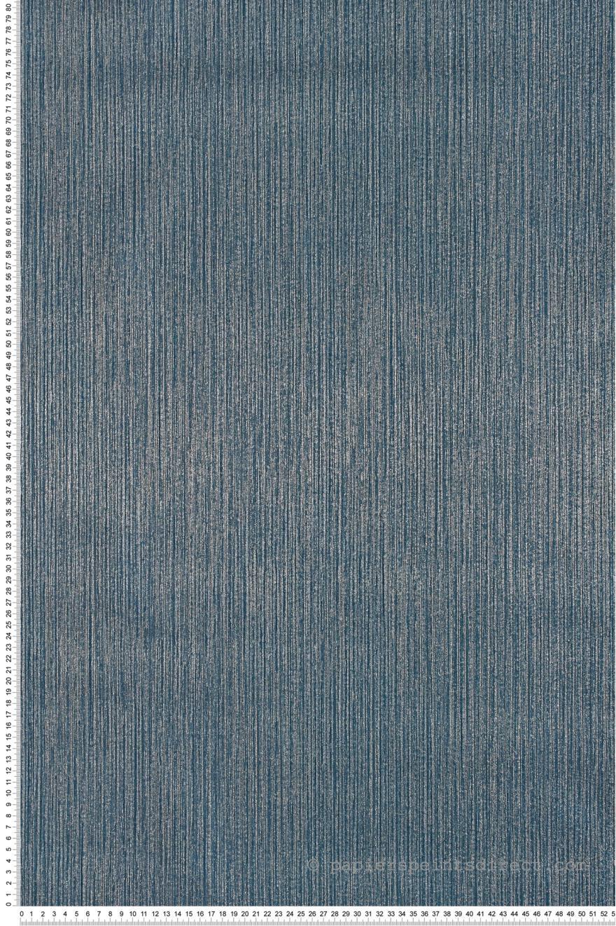 Papier Peint Faux Uni Irise Bleu Canard Special Fx De Lutece