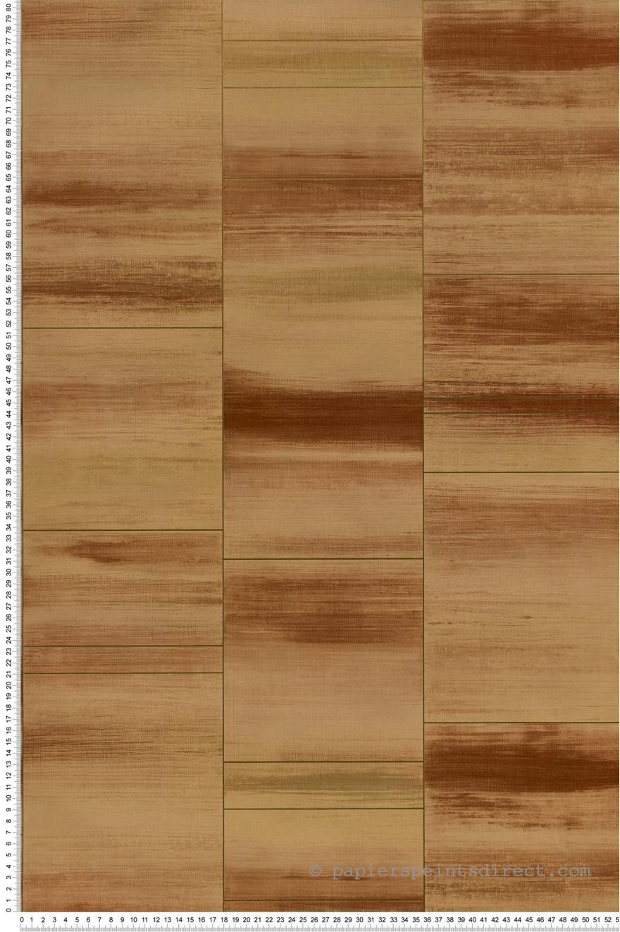papier peint carrelage orang iris cuivre special fx de lut ce. Black Bedroom Furniture Sets. Home Design Ideas