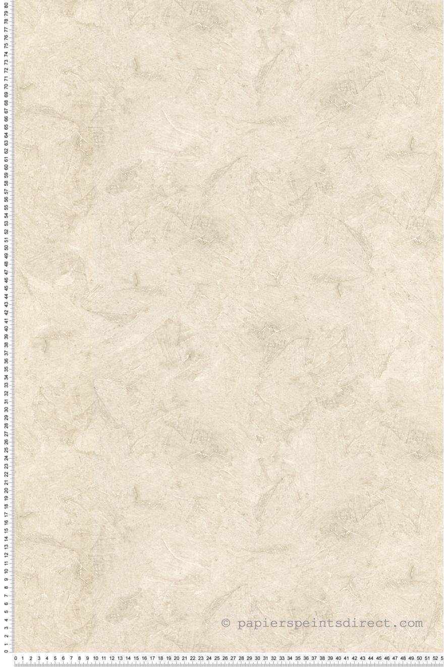 Papier peint Tadelakt marbré beige clair - Style Cuisine 3 de Lutèce