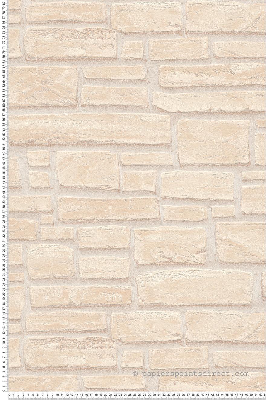 papier peint pierres relief beige wood n stone 2 d 39 as. Black Bedroom Furniture Sets. Home Design Ideas