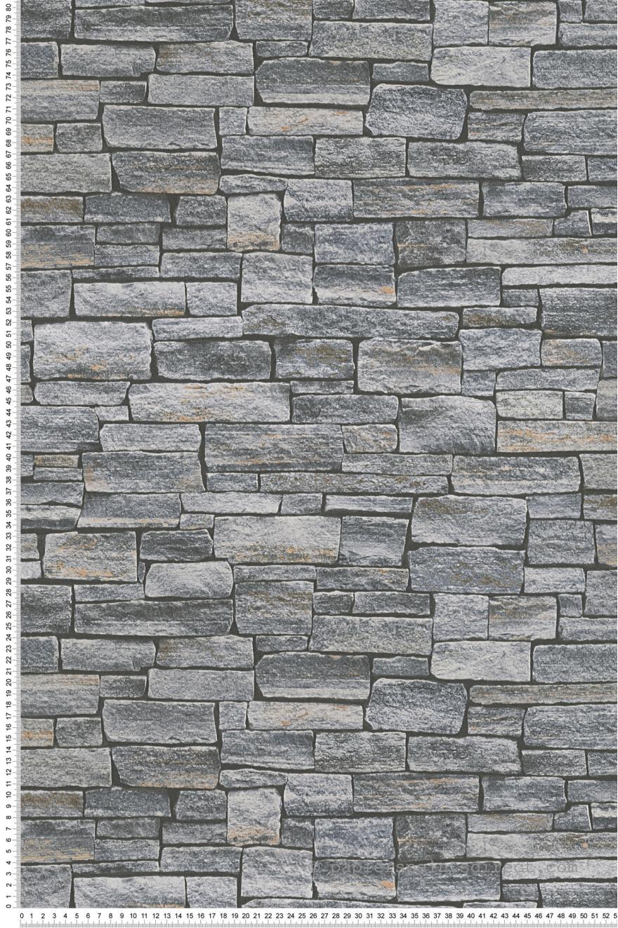 Papier Peint Mur De Pierres Grises Wood N Stone 2 D As Creation