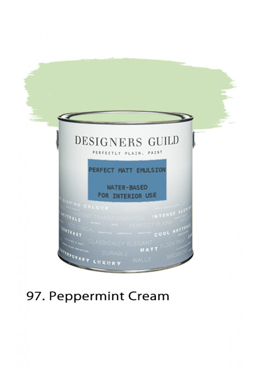 peppermint cream n 97 peinture mate parfaite designers guild. Black Bedroom Furniture Sets. Home Design Ideas