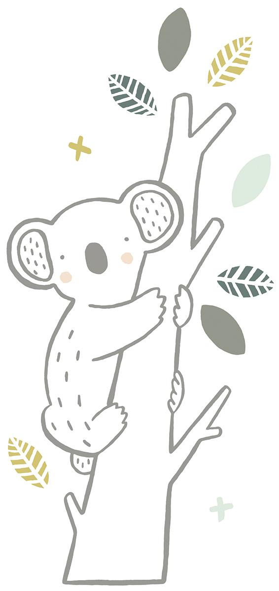 Stickers koala sur sa branche - Stickers de Lilipinso