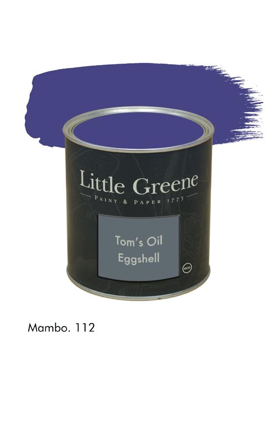 Mambo n°112. Peinture Tom's Oil Eggshell Little Greene