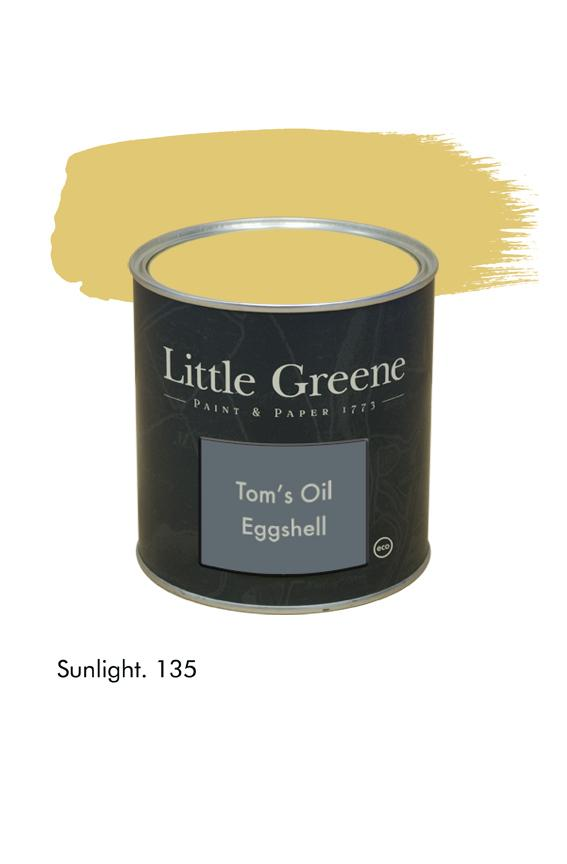 Sunlight n°135. Peinture Tom's Oil Eggshell Little Greene
