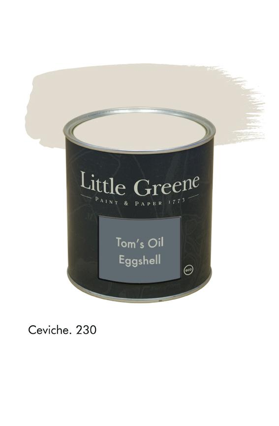 Ceviche n°230. Peinture Tom's Oil Eggshell Little Greene