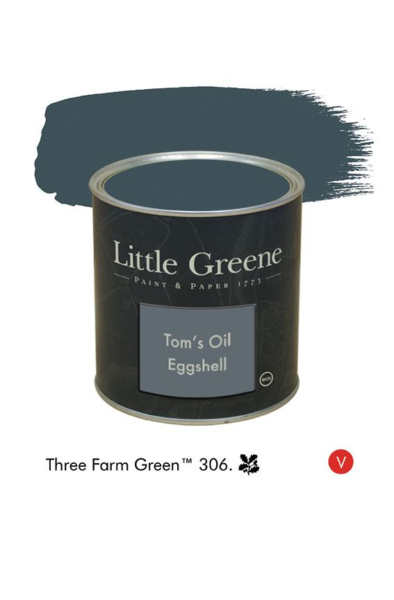 Three Farm Green n°306  - Peinture Tom's Oil Eggshell