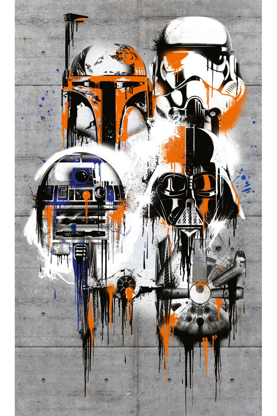 Star Wars Celebrate The Galaxy Papier Peint Xxl Komar