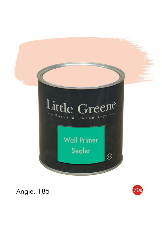 Angie (1970s) n°185. Sous-couche Wall Primer Sealer Little Greene