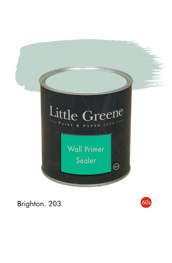Brighton (1960s) n°203. Sous-couche Wall Primer Sealer Little Greene