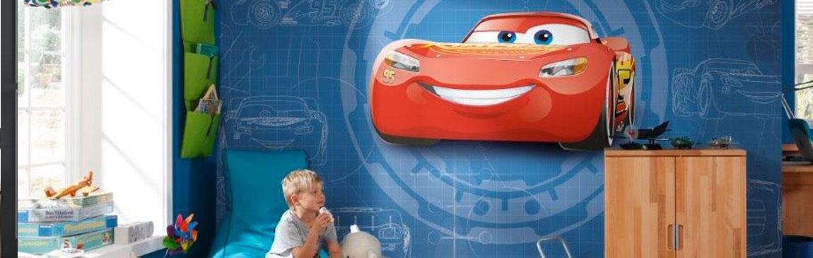 Papier peint Cars