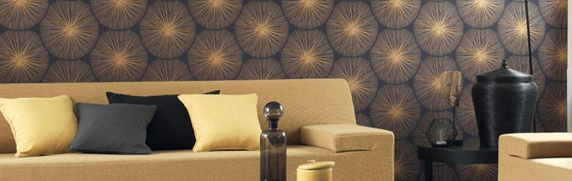 papier peint g om trique papier peint direct vente. Black Bedroom Furniture Sets. Home Design Ideas