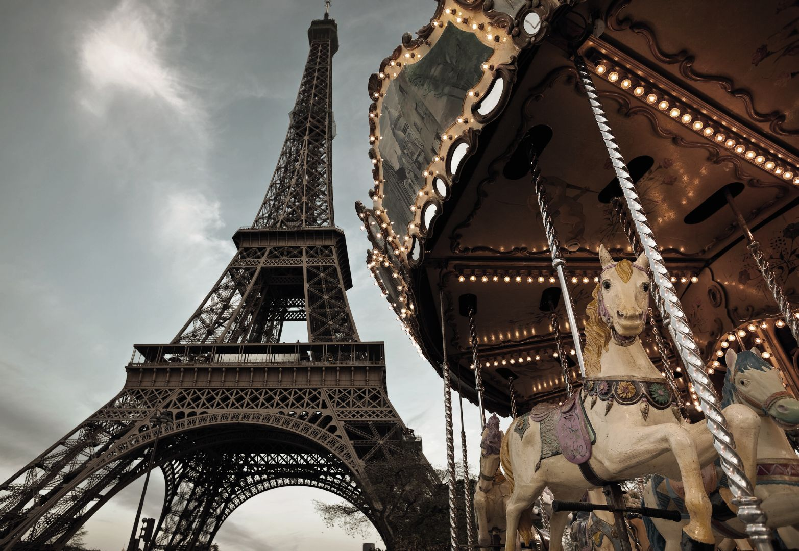 Le Caroussel de Paris - panoramique Komar