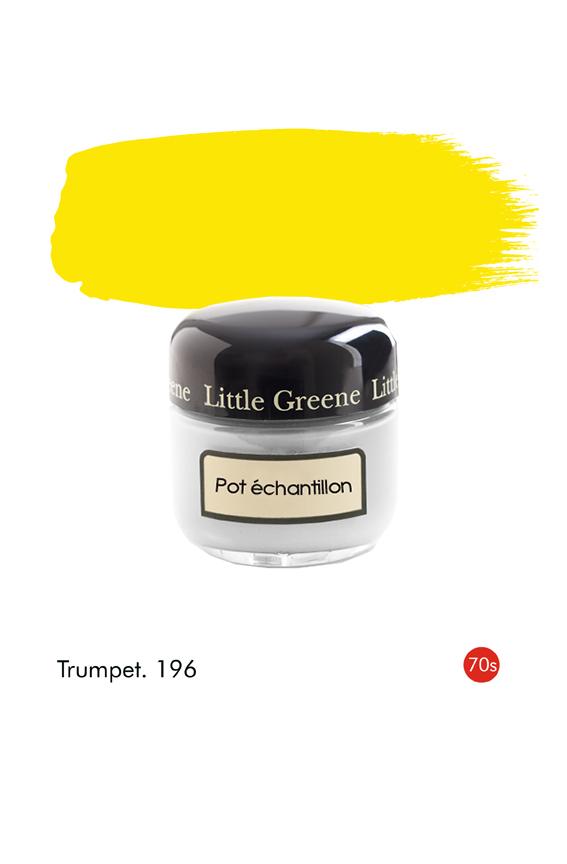 Pot échantillon Trumpet (1970s) n°196 - Finition Absolute Matt Emulsion