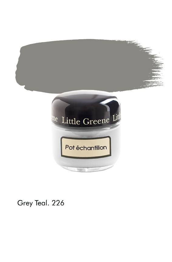 Pot échantillon Grey Teal n°226 - Finition Absolute Matt Emulsion