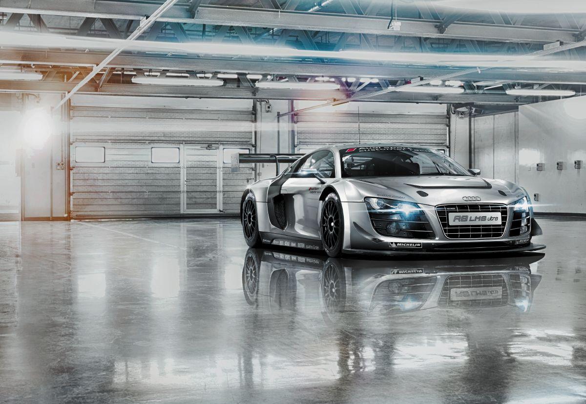 Audi R8 Le Mans - panoramique Komar
