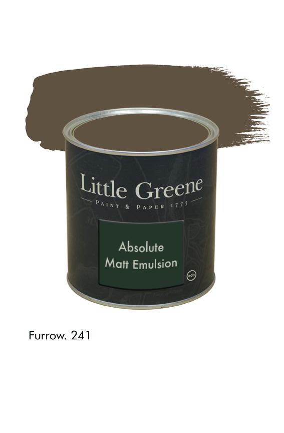 Furrow n°241. Peinture Absolute Matt Emulsion Little Greene