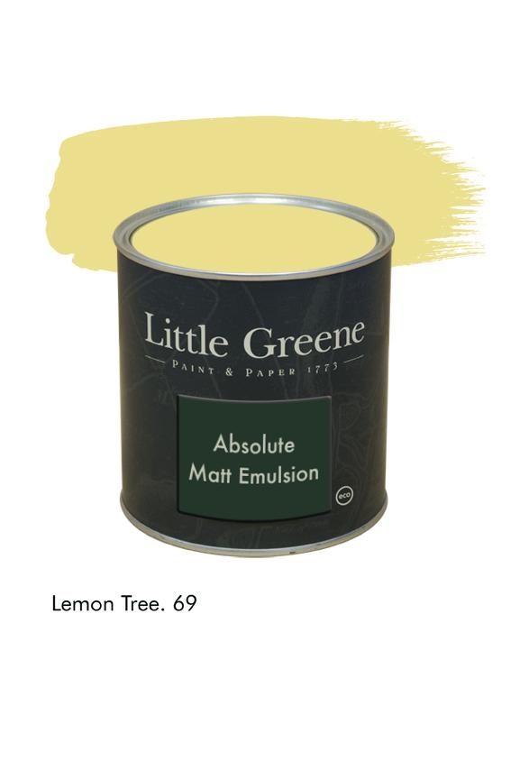 Lemon Tree n°69. Peinture Absolute Matt Emulsion Little Greene