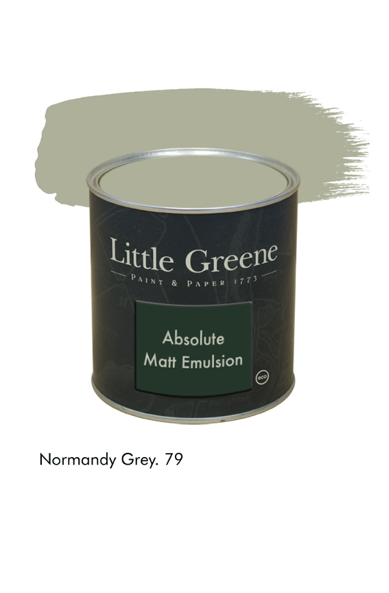 Normandy Grey n°79. Peinture Absolute Matt Emulsion Little Greene