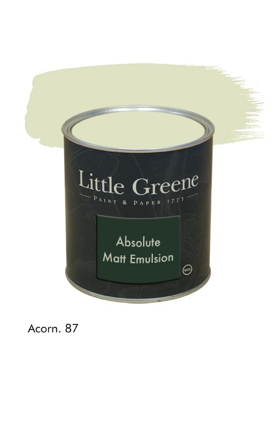 Acorn n°87. Peinture Absolute Matt Emulsion Little Greene
