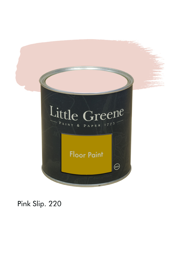 Pink Slip n°220. Peinture Floor Paint Little Greene