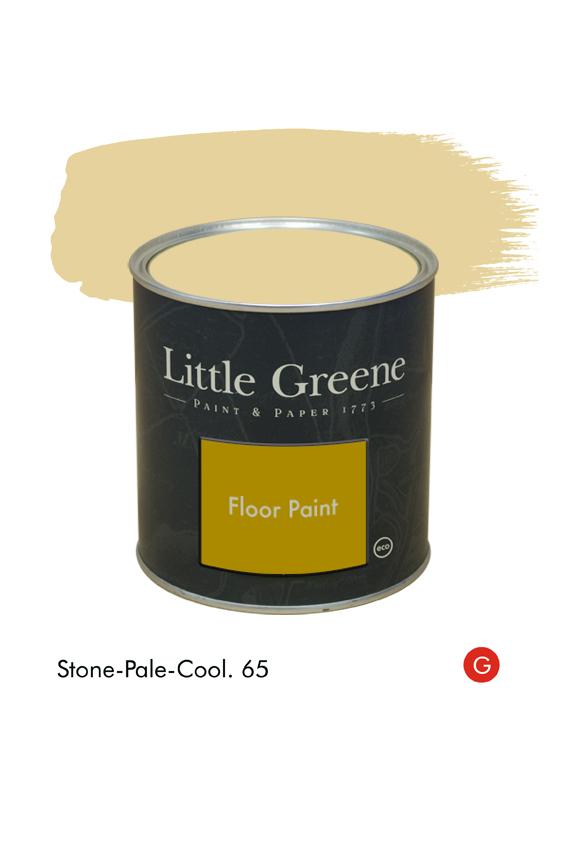 Stone-Pale-Cool (Georgian) n°65. Peinture Floor Paint Little Greene