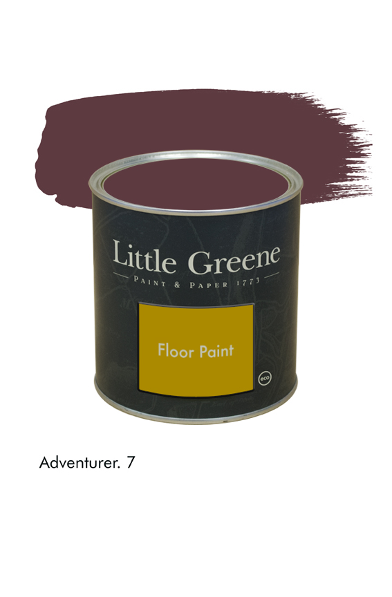 Adventurer n°7. Peinture Floor Paint Little Greene