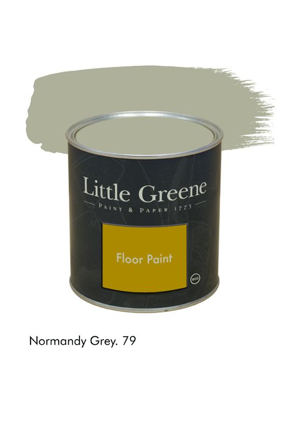 Normandy Grey n°79. Peinture Floor Paint Little Greene