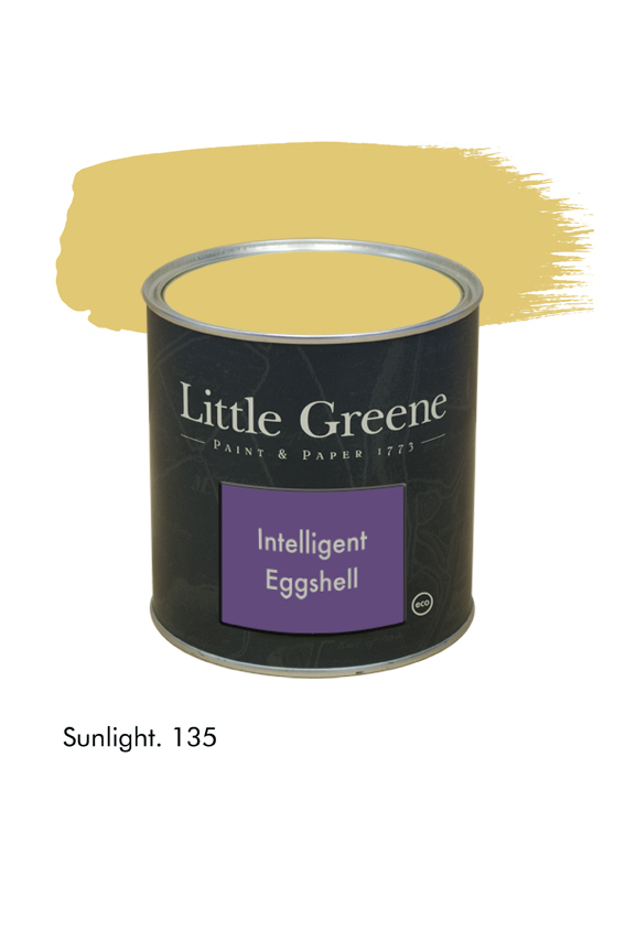 Sunlight n°135. Peinture Intelligent Eggshell Little Greene