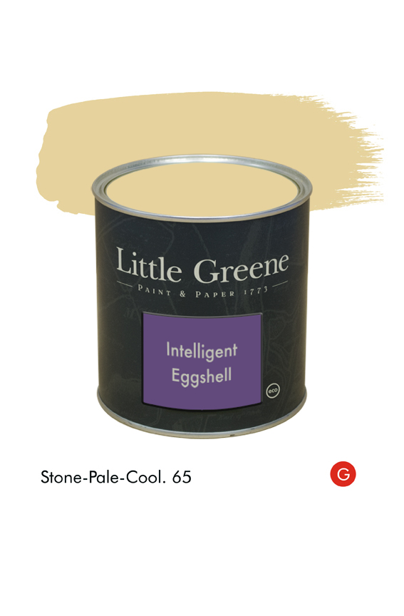 Stone-Pale-Cool (Georgian) n°65. Peinture Intelligent Eggshell Little Greene