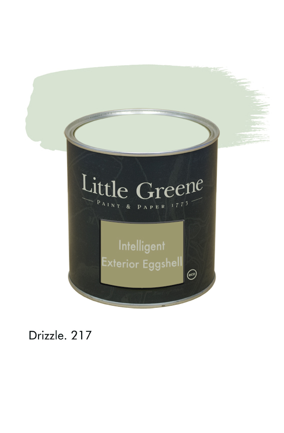 Drizzle n°217. Peinture Intelligent Exterior Eggshell Little Greene