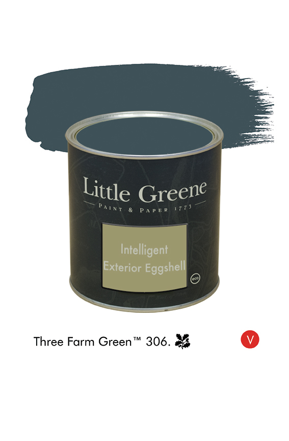 Three Farm Green n°306  - Peinture Intelligent Exterior Eggshell