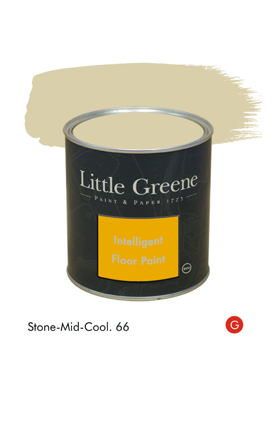 Peinture Intelligent Floor Paint - Stone-Mid-Cool n°66 - Peinture Little Greene