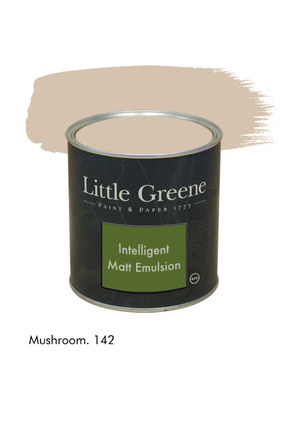 Mushroom n°142. Peinture Intelligent Matt Emulsion Little Greene