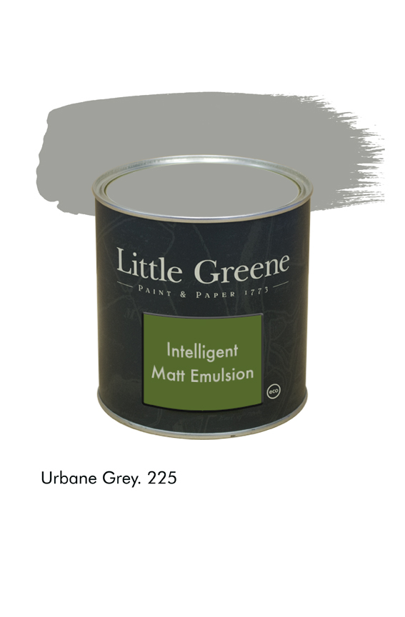 Urbane Grey n°225. Peinture Intelligent Matt Emulsion Little Greene
