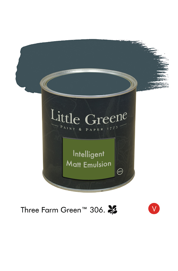 Three Farm Green n°306  - Peinture Intelligent Matt Emulsion