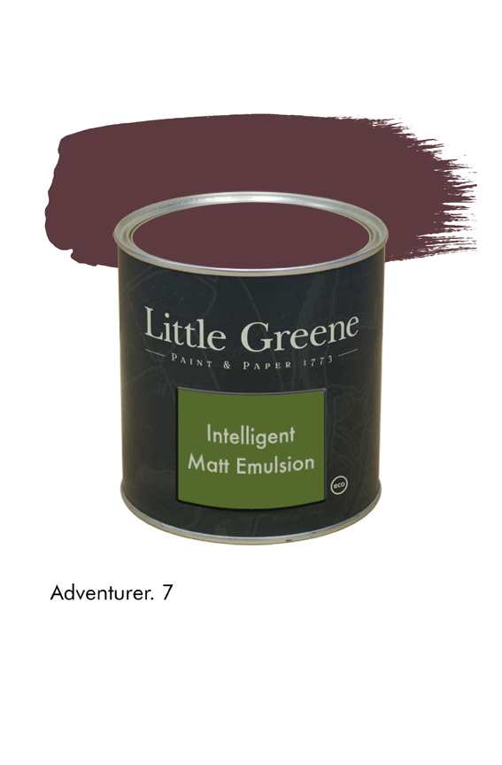 Adventurer n°7. Peinture Intelligent Matt Emulsion Little Greene
