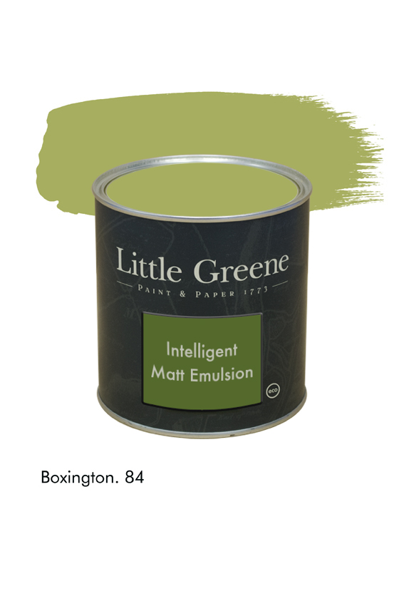 Boxington n°84. Peinture Intelligent Matt Emulsion Little Greene