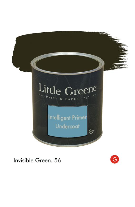 Invisible Green (Georgian) n°56. Sous-couche Intelligent Primer Undercoat Little Greene