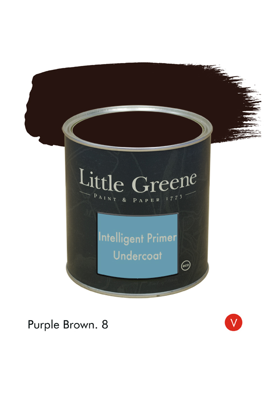 Purple Brown (Victorian) n°8. Sous-couche Intelligent Primer Undercoat Little Greene