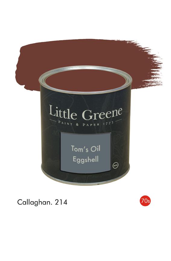 Callaghan (1970s) n°214. Peinture Tom's Oil Eggshell Little Greene