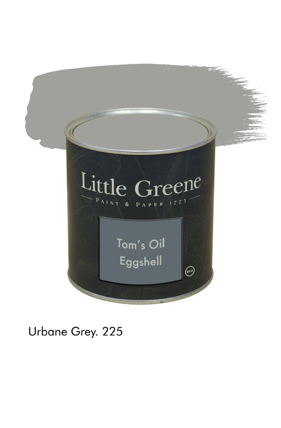 Urbane Grey n°225. Peinture Tom's Oil Eggshell Little Greene