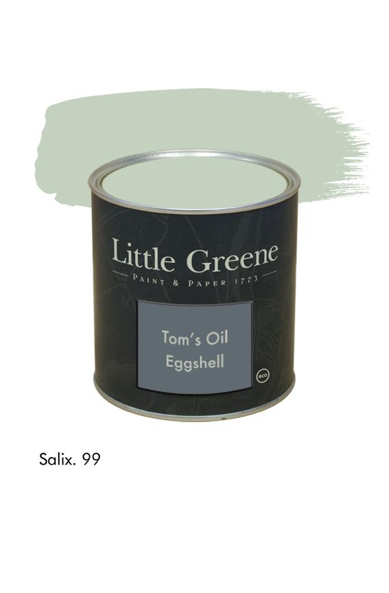 Salix n°99. Peinture Tom's Oil Eggshell Little Greene