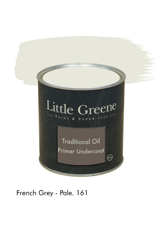 French Grey pale n°161. Sous-couche Traditional Oil Primer Undercoat Little Greene