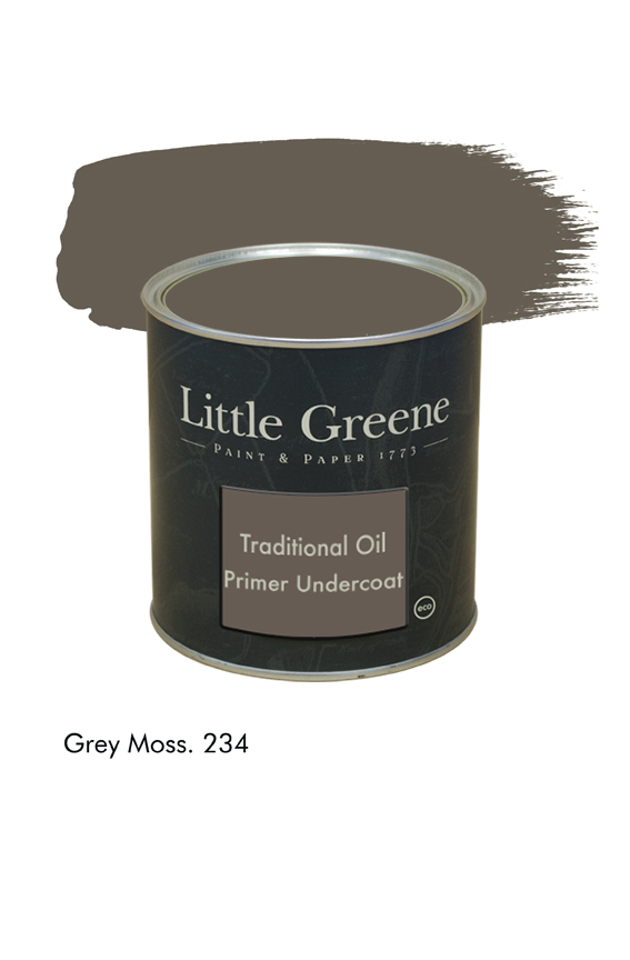 Grey Moss n°234. Sous-couche Traditional Oil Primer Undercoat Little Greene