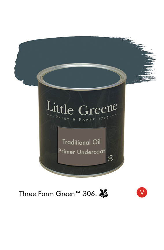 Sous-couche teintée Traditional Oil Primer pour Three Farm Green n°306