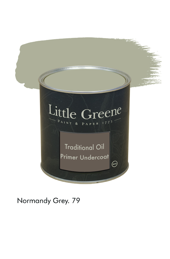 Normandy Grey n°79. Sous-couche Traditional Oil Primer Undercoat Little Greene