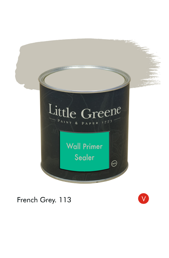 French Grey (Victorian) n°113. Sous-couche Wall Primer Sealer Little Greene