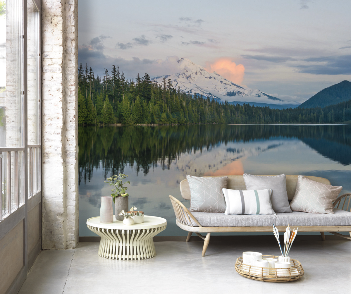 Papier Peint Panoramique Paysage papier peint panoramique paysage nordic - home sweet home de